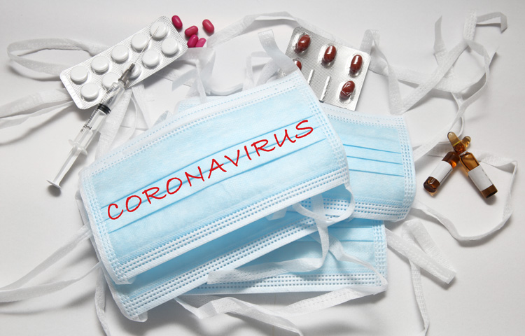 Coronavirus mask and drugs