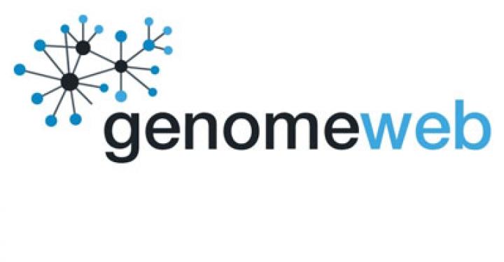 Image result for genomeweb logo