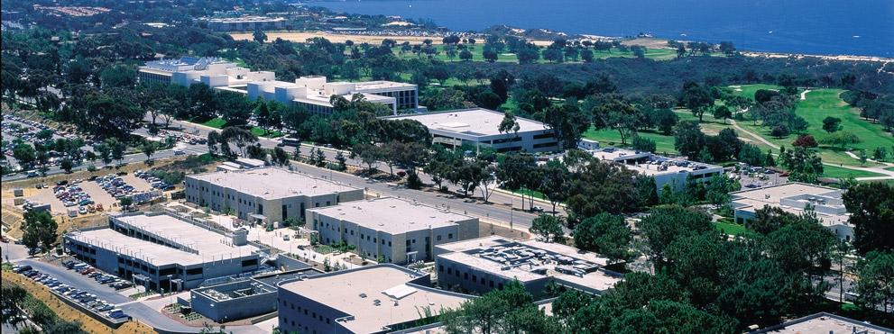 Aerial view of institute