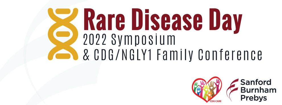 2022 Rare Disease Day Symposium graphic