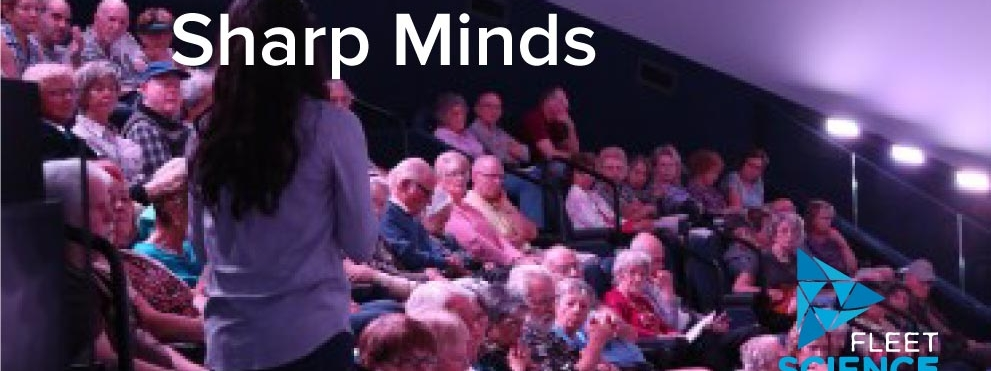 Sharp Minds Fleet lecture series graphic