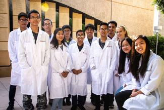 UC San Diego Preuss School Interns Class Summer 2018