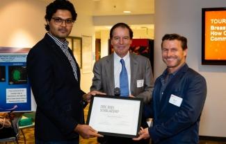 Gaurav Pathria, Garth Powis- Eric Dudle Scholarship
