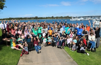 Rare Disease Day group photo